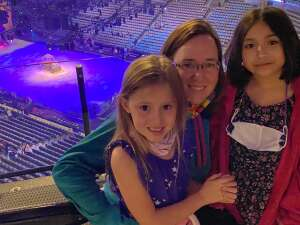 Andrea attended Disney on Ice Presents Dream Big on Nov 12th 2020 via VetTix