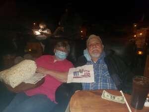 Tony attended Roadhouse Cinemas Thursday for Vets on Nov 12th 2020 via VetTix
