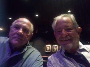 Fred attended John Caparulo at Tempe Improv on Nov 5th 2020 via VetTix