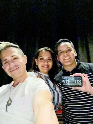 Daniel attended John Caparulo at Tempe Improv on Nov 5th 2020 via VetTix