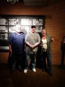 Don attended John Caparulo at Tempe Improv on Nov 5th 2020 via VetTix