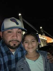 Adrian  attended Disney on Ice Presents Dream Big on Nov 19th 2020 via VetTix
