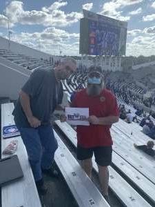 David Q. attended University of Memphis vs. University of South Florida - NCAA Football - Military Appreciation Game on Nov 7th 2020 via VetTix