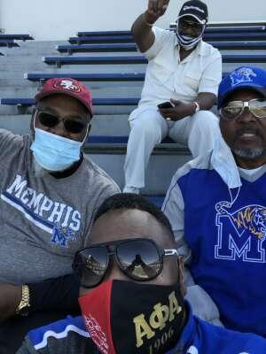 Cedric Smith attended University of Memphis vs. University of South Florida - NCAA Football - Military Appreciation Game on Nov 7th 2020 via VetTix