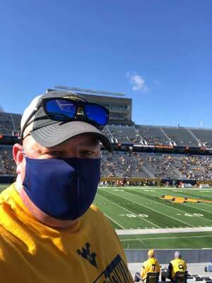 Danny Reaser attended West Virginia University Mountaineers vs. TCU on Nov 14th 2020 via VetTix