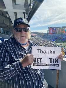 Keith Coen attended West Virginia University Mountaineers vs. TCU on Nov 14th 2020 via VetTix