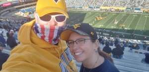 DAVE attended West Virginia University Mountaineers vs. TCU on Nov 14th 2020 via VetTix