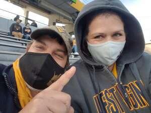 Tony attended West Virginia University Mountaineers vs. TCU on Nov 14th 2020 via VetTix