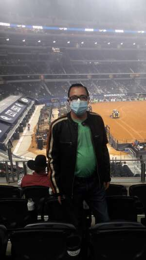 Amadeo  attended PBR World Finals: Unleash the Beast on Nov 13th 2020 via VetTix