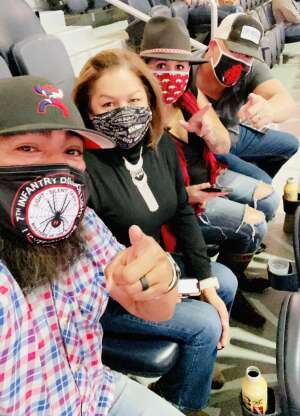 Zo attended PBR World Finals: Unleash the Beast on Nov 13th 2020 via VetTix