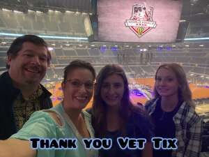 Steve & Family attended PBR World Finals: Unleash the Beast on Nov 13th 2020 via VetTix