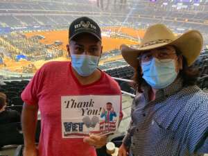 Israel attended PBR World Finals: Unleash the Beast on Nov 13th 2020 via VetTix