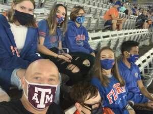 Scott attended Florida Gators vs. Arkansas Razorbacks - Salute Those Who Serve Game - NCAA - Football on Nov 14th 2020 via VetTix