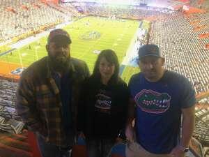 Cory attended Florida Gators vs. Arkansas Razorbacks - Salute Those Who Serve Game - NCAA - Football on Nov 14th 2020 via VetTix