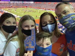 Ken attended Florida Gators vs. Arkansas Razorbacks - Salute Those Who Serve Game - NCAA - Football on Nov 14th 2020 via VetTix