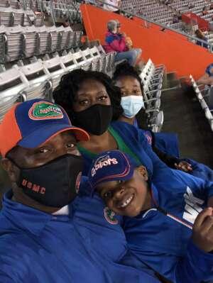 Manny attended Florida Gators vs. Arkansas Razorbacks - Salute Those Who Serve Game - NCAA - Football on Nov 14th 2020 via VetTix