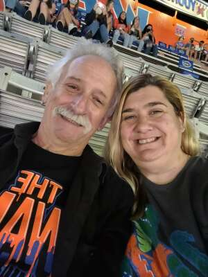 Tanya attended Florida Gators vs. Arkansas Razorbacks - Salute Those Who Serve Game - NCAA - Football on Nov 14th 2020 via VetTix