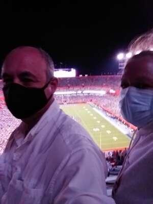 Doug attended Florida Gators vs. Arkansas Razorbacks - Salute Those Who Serve Game - NCAA - Football on Nov 14th 2020 via VetTix