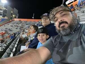 Rudy attended Florida Gators vs. Arkansas Razorbacks - Salute Those Who Serve Game - NCAA - Football on Nov 14th 2020 via VetTix
