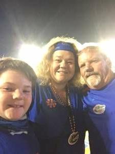 Tom W (Army) attended Florida Gators vs. Arkansas Razorbacks - Salute Those Who Serve Game - NCAA - Football on Nov 14th 2020 via VetTix