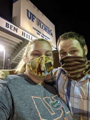Daniel attended Florida Gators vs. Arkansas Razorbacks - Salute Those Who Serve Game - NCAA - Football on Nov 14th 2020 via VetTix