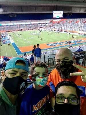 Mark H attended Florida Gators vs. Arkansas Razorbacks - Salute Those Who Serve Game - NCAA - Football on Nov 14th 2020 via VetTix