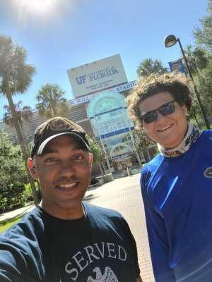 Lawrence  attended Florida Gators vs. Arkansas Razorbacks - Salute Those Who Serve Game - NCAA - Football on Nov 14th 2020 via VetTix