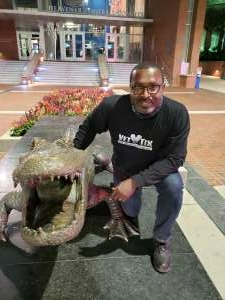 Richard attended Florida Gators vs. Arkansas Razorbacks - Salute Those Who Serve Game - NCAA - Football on Nov 14th 2020 via VetTix
