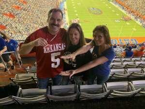 Eric attended Florida Gators vs. Arkansas Razorbacks - Salute Those Who Serve Game - NCAA - Football on Nov 14th 2020 via VetTix