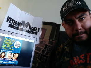 Ed attended The Laugh Tour: VIRTUAL Stand Up Comedy via ZOOM on Nov 28th 2020 via VetTix