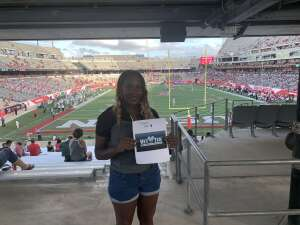 AJ attended University of Houston vs. South Florida - NCAA on Nov 14th 2020 via VetTix