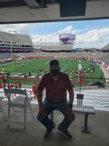 Terry attended University of Houston vs. South Florida - NCAA on Nov 14th 2020 via VetTix