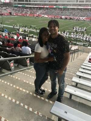 Mario attended University of Houston vs. South Florida - NCAA on Nov 14th 2020 via VetTix