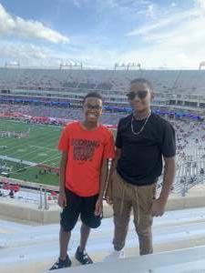 DK attended University of Houston vs. South Florida - NCAA on Nov 14th 2020 via VetTix