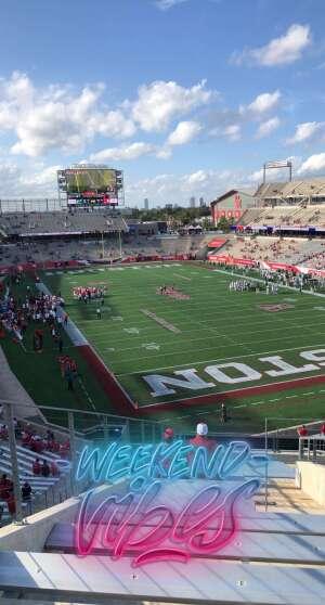 Keith McDougal II attended University of Houston vs. South Florida - NCAA on Nov 14th 2020 via VetTix