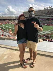 William Arriaga attended University of Houston vs. South Florida - NCAA on Nov 14th 2020 via VetTix