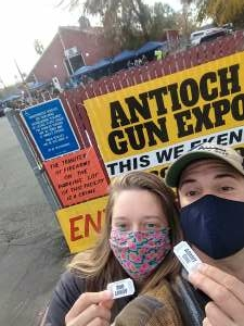 Lyle and Grace attended Antioch Gun Show on Dec 5th 2020 via VetTix