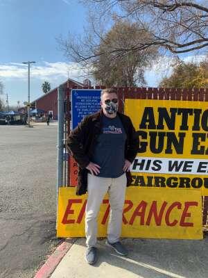 David M attended Antioch Gun Show on Dec 5th 2020 via VetTix