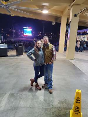 Mandi Marks attended Chris Young Live at Coolray Field With Special Guests Cassadee Pope, Payton Smith, and Kameron Marlowe on Nov 14th 2020 via VetTix