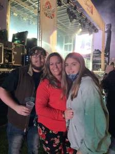 Richard attended Chris Young Live at Coolray Field With Special Guests Cassadee Pope, Payton Smith, and Kameron Marlowe on Nov 14th 2020 via VetTix