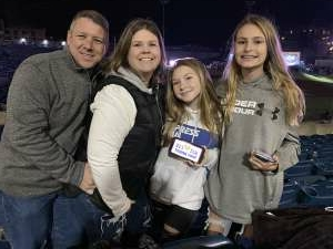 J. Nicholson attended Chris Young Live at Coolray Field With Special Guests Cassadee Pope, Payton Smith, and Kameron Marlowe on Nov 14th 2020 via VetTix