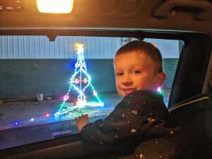 JC attended Magic of Lights: Drive-through Holiday Lights Experience on Dec 2nd 2020 via VetTix