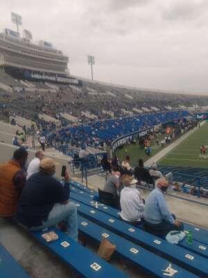 Willie Gladney  attended University of Memphis vs. Stephen F. Austin State University - NCAA Football on Nov 21st 2020 via VetTix