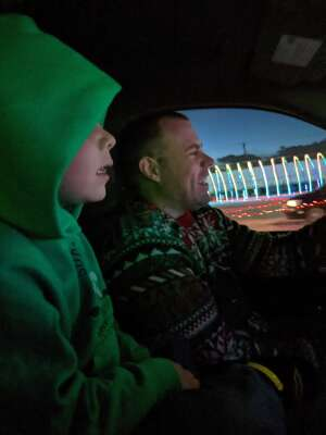 James attended Drive-thru Animated Light Show on Nov 20th 2020 via VetTix