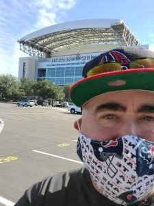 Phillip Bowman  attended Houston Texans vs. New England Patriots - NFL on Nov 22nd 2020 via VetTix