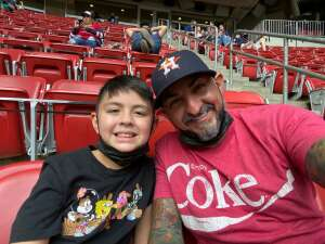 Ronnie Andrade attended Houston Texans vs. New England Patriots - NFL on Nov 22nd 2020 via VetTix