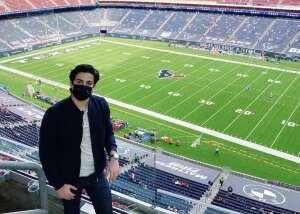 Anthony  Lopez  attended Houston Texans vs. New England Patriots - NFL on Nov 22nd 2020 via VetTix