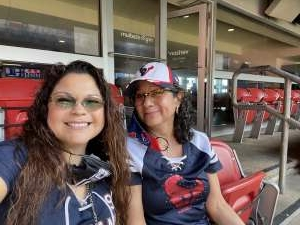Maria Adams attended Houston Texans vs. New England Patriots - NFL on Nov 22nd 2020 via VetTix