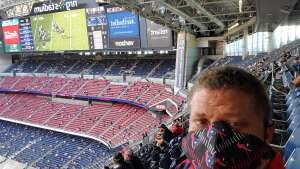 HappyVet attended Houston Texans vs. New England Patriots - NFL on Nov 22nd 2020 via VetTix