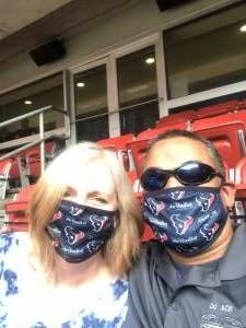 Kunal Moza attended Houston Texans vs. New England Patriots - NFL on Nov 22nd 2020 via VetTix